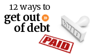 The quickest and most effective ways of getting out of debt in Canada.