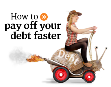 How to pay off your debt faster by accelerating mortgage and loan payments to save money.