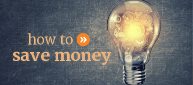 How to save money every month, and ways to save that money for the future.