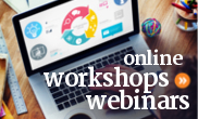 Free online workshop webinars for budgeting, credit, and money issues.