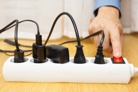 Use a Power Bar to Make it Easy to Turn Off or Unplug Devices When Not in Use