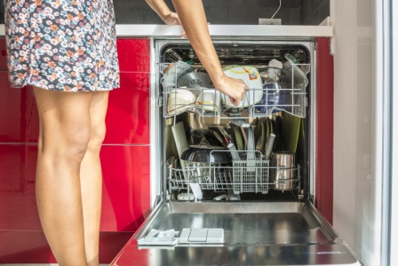 Use Your Dishwasher Efficiently & Only Run it When it's Full