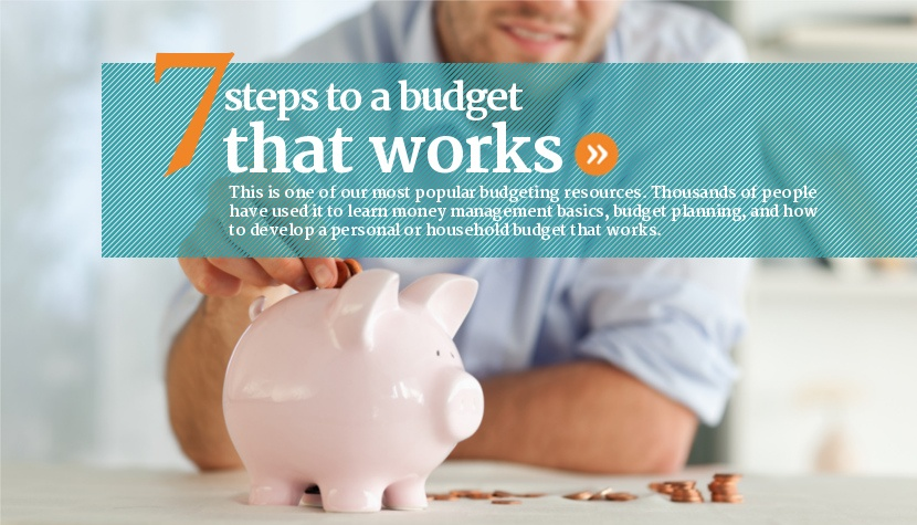 7 steps to build a budget that works.
