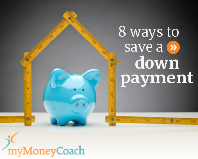 How to save a down payment for a home or other big purchases.