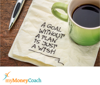 Set a financial goal to save money for a trip or vacation. But first you need a plan.