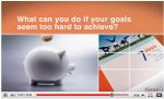Video thumbnail image about financial goals.