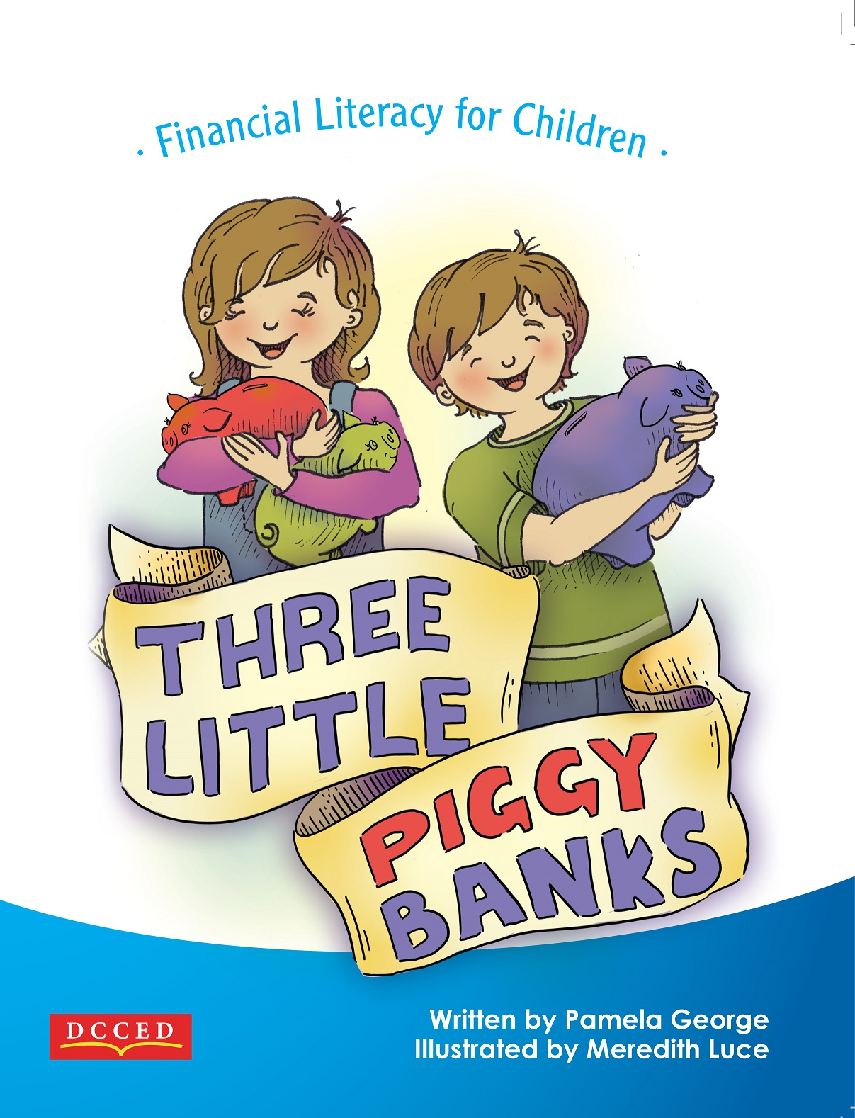 Three Little Piggy Banks, Financial Literacy & Money Management book for Children