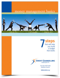 Budgeting workbook: 7 steps that will help you build a budget that works. Learning money management basics.