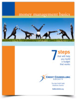 7 steps budgeting workbook cover image.