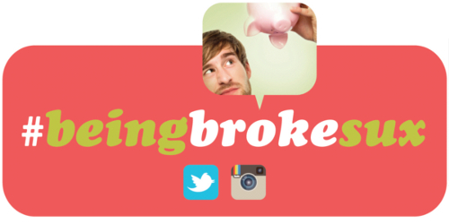 BeingBrokeSux Contest on Twitter and Instagram