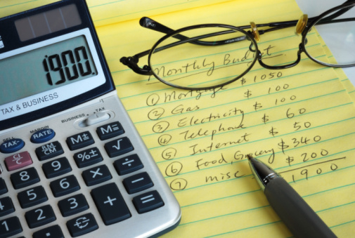 Create a Household Budget to Prevent Money Problems