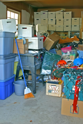 Clean Up Your Finances, Organize your Storage Locker, Closet or Garage