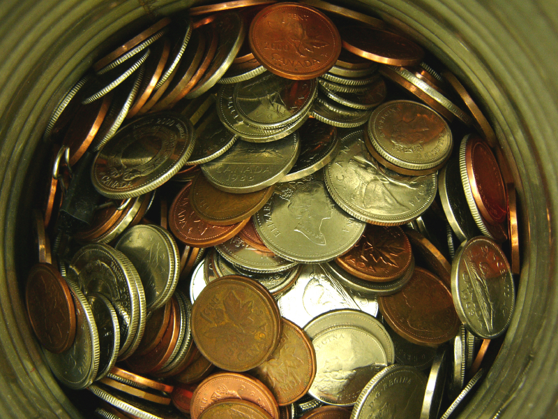 Collecting Pennies & Coins to Save and Manage Money Better