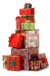 Stack of presents representing how to save money and get more out of your Christmas.