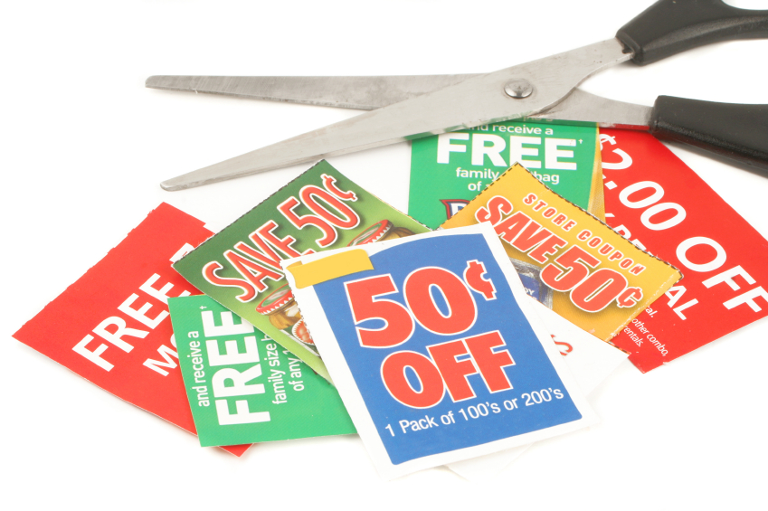 Save money on groceries with coupons and discounts