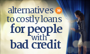 Alternatives to bad credit personal loans in Canada.