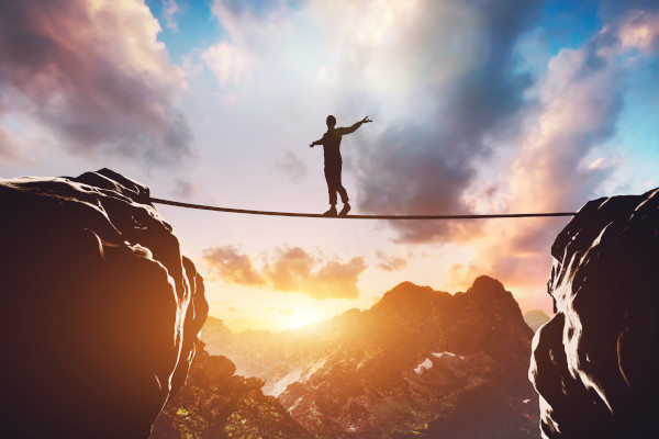 Balancing your budget can feel like walking on a tightrope
