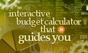 Free budget calculator worksheet and spreadsheet for living expenses in Canada.