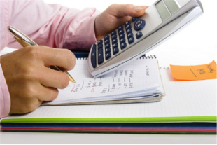 Calculating expenses and costs to help you budget money properly.