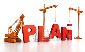 Building a financial plan.