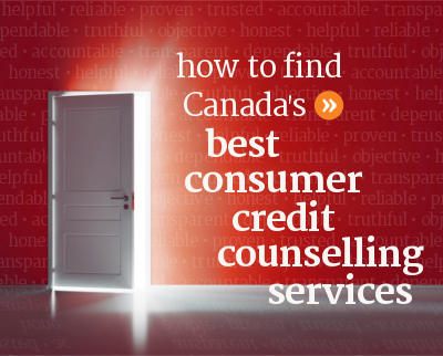 How to find Canada's best consumer credit counselling services.