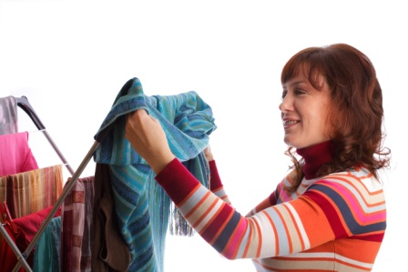 Hang at Least Some Laundry from each Load Up on a Drying Rack to Save Money & Energy