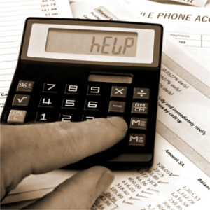 A budget calculator can help with bills and debt.