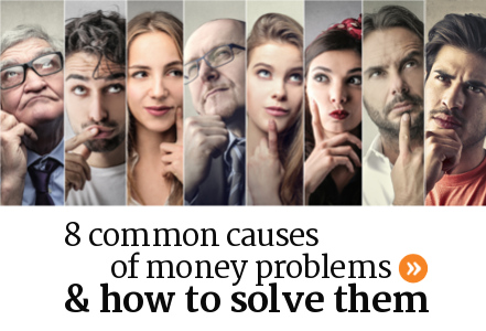 How to solve money problems on your own in Canada.