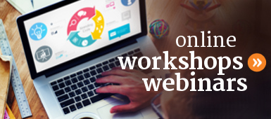 Online public workshops and webinars that teach personal finances and money management.