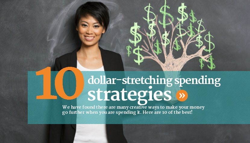 10 ways to save money and make it stretch.