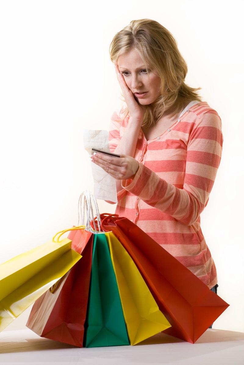 Woman Wants to Stop Spending Money